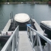 floating dock en boatlift